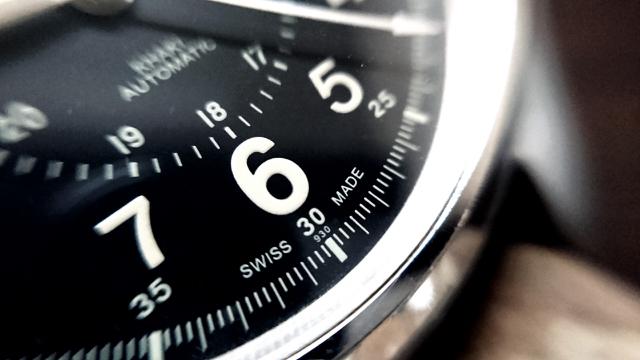 ビジネスマナー,時計